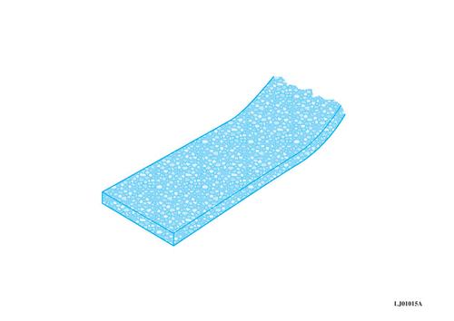 Bande résiliente Caroplatre® 5 en liège | Bande résiliente Caroplatre 7 et 5 en liège