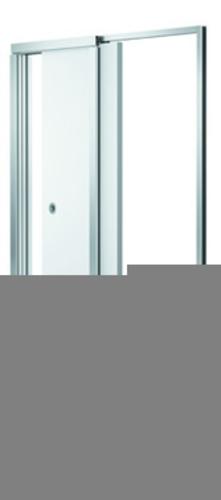 Bloc-porte Navibloc® Blanc | Le premier bloc-porte coulissant escamotable pour cloisons de 72/48