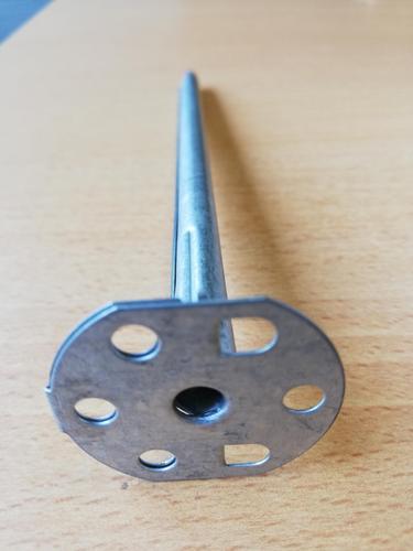 Cheville métallique Stisolith® | La cheville Stisolith est en métal de dimensions variables. Elle possède une rondelle.