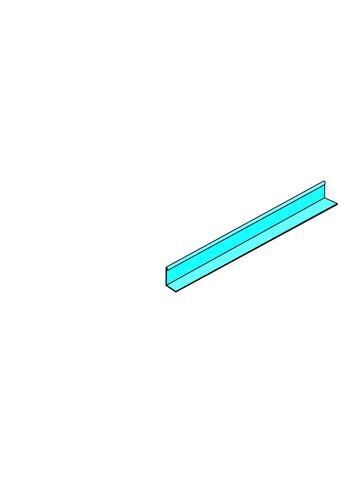 Cornière Stil® CR2 | Cornière Stil CR2 accessoire pour système Placostil®