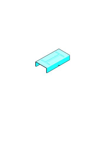 Eclisse Stil® F 530 LSN | Éclisse stil F530 accessoire pour système Placostil®