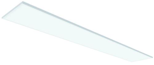 Gyptone® Activ'Air® Xtensiv Base 33 1200 | Dalle en plaque de plâtre peinte lisse et non perforée, de bord feuilluré (E24 et B) pour des surfaces de plafond avec le système ossatures semi-apparentes avec les ossatures Cross-Lock de Placo®.