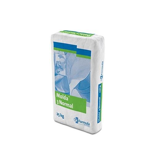 Molda® 3 Normal | Plâtre onctueux conçu pour le moulage des éléments décoratifs et la sculpture. S'utilise également pour le polochonnage et le jointoiement des éléments sur chantiers