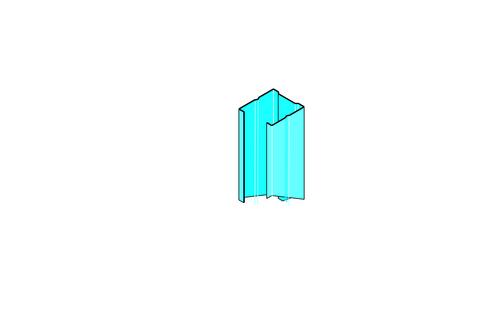 Montant Stil® M 36 | Montant Stil M36 profilé pour système placostil