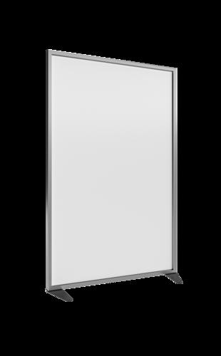 Placo® Modulo Style - Blanc - Profilé Anodisé - 1000x1600 mm | Placo Modulo Style blanche profilé anodisé 1000x1600
