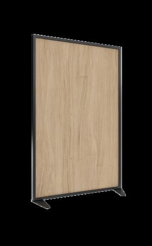 Placo® Modulo Style - Bois - Profilé Noir - 1000x1600 mm | Placo Modulo Style bois profilé noir 1000x1600