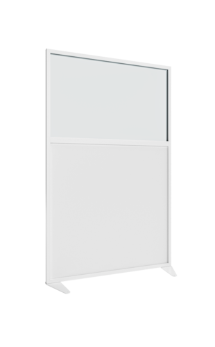 Placo® Modulo Vision - Blanc - Profilé Blanc - 1000x1600 mm | Placo Modulo Vision blanche profilé blanc 1000x1600