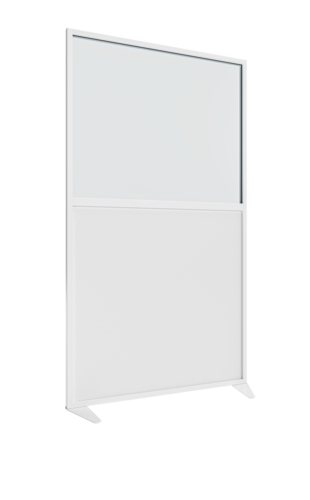 Placo® Modulo Vision - Blanc - Profilé Blanc - 1000x1800 mm   Placo Modulo Vision blanche profilé blanc 1000x1800