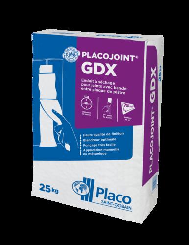 Placojoint® GDX 25kg | enduit à séchage , finition très soignée