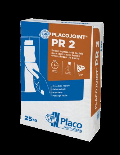 Placojoint® PR2 25kg | Enduit à joint à prise 2h
