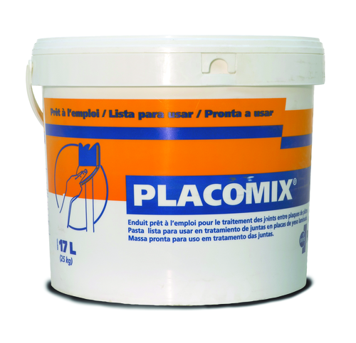 Placomix® 5kg | Placomix enduit prêt à l'emploi pour le traitement des joints entre plaques de plâtre