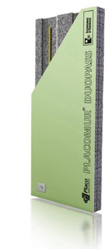 Placomur® DuoPass Marine 5.90 - 210 | Nouveau système de doublage collé, composé de deux éléments : - une