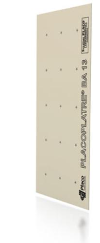Placoplatre® 600 BA 13 | Plaque de plâtre à 2 bords amincis. Plaque de dimensions réduites pour chantiers d'accès difficile. Permet de réaliser tous types d'ouvrages.