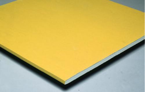 Placoplatre® BA18S Premium | Plaque de plâtre de type mono-parement de largeur 900 mm, haute dureté et pré-imprimée de couleur blanche.