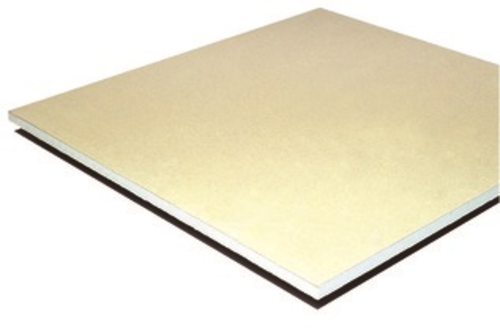 Placoplatre® BA 25 Marine | Plaque de plâtre d'épaisseur 25 mm et de largeur 900 mm, haute résistance au feu, aux chocs et à l'humidité, particulièrement adaptée à la mise en oeuvre du Concept Hospitalier.