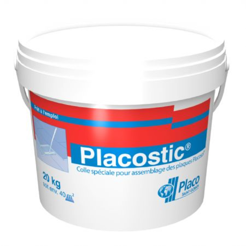 Placostic® 20kg | Seau colle Placostic