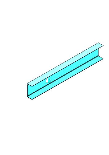 Rail R Stil Prim® | Rail R Stil Prim accessoire pour système Placostil Prim