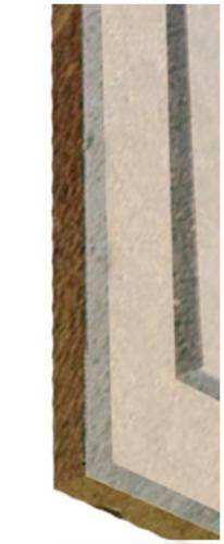 Rigidur® Sol 30 MW | Plaque fibre-plâtre haute dureté pour réalisation de chapes sèches légères, composée de 2 plaques de 10mm assemblées en usine.