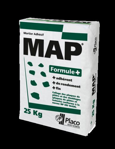 MAP® Formule + 25 kg | Sac d'enduit MAP Formule + de 25kg