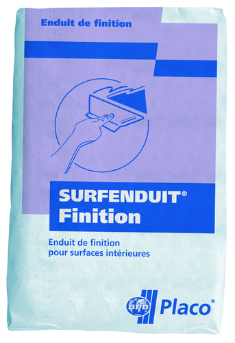 Surfenduit® Finition 25kg | Sac Surfenduit Finition