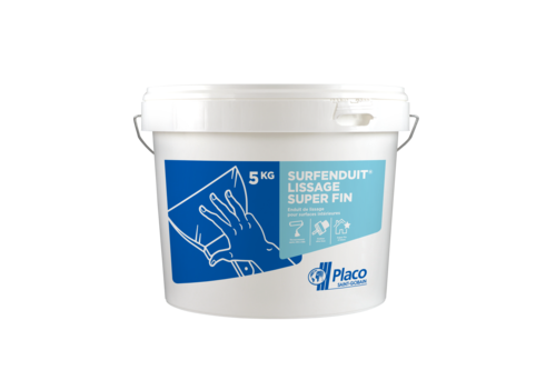 Surfenduit® Lissage super fin 5kg | Seau 3D surfenduit reboucheur