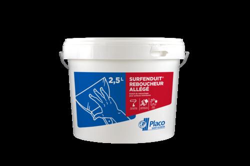 Surfenduit® Reboucheur allégé 2,5l | Seau 3D surfenduit reboucheur de 2,5 L