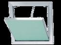 Trappe de visite alu/plaque 200 x 200 mm