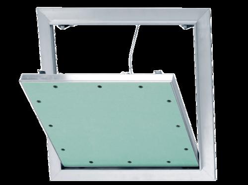 Trappe étanche à l'air 500 x 500 mm | trappe de visite étanche à l'air accessoire pour plaques de plâtre permettant l'accès aux câbles électriques, conduits sanitaires ou installations électriques