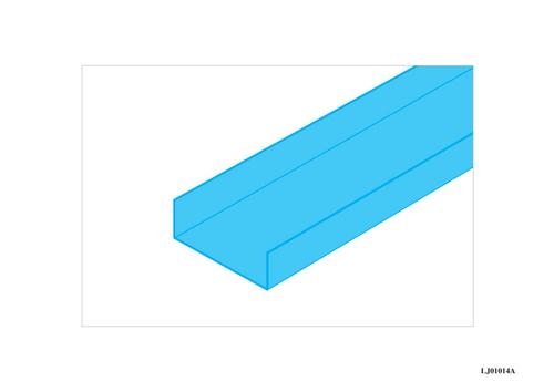 U plastique Caroplatre® 10 | U PLASTIQUE (version 2 coul.)