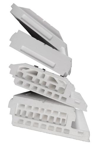 Voutissimo® T 600 Décor | Entrevous polystyrène expansé moulé de coffrage et d'isolation des planchers à poutrelles