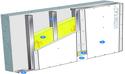 Doublage Placostil® sur montants - support béton 16cm - 1x Placo® Duo'Tech® 25 Activ'Air® - 2,55m
