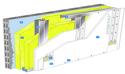 Doublage Placostil® sur montants - support parpaing creux 20 cm - 2x Placoplatre® BA13 Activ'Air® - 2,45m