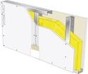 Cloison Placostil® 72/48 Placoplatre® BA13 Activ'Air® - EI 30 - 39dB - 3,25m