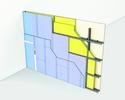 Cloison Cinéstil® 3D / 350 - Duo'Tech® 25 + Placo® Phonique BA13 - 11,70m - entr. 1,80m