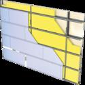 Cloison Cinéstil® 3D / 350 - Duo'Tech® 25 + Placo® Phonique BA13 - 10,05m - entr. 1,80m