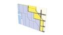 Cloison Cinéstil® 4D / 375 - 2 x Duo'Tech® 25 - 10,90m - entr. 2,40m