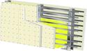 Cloison Megastil® 290/170 - EI 60 - 66dB - 9,7m