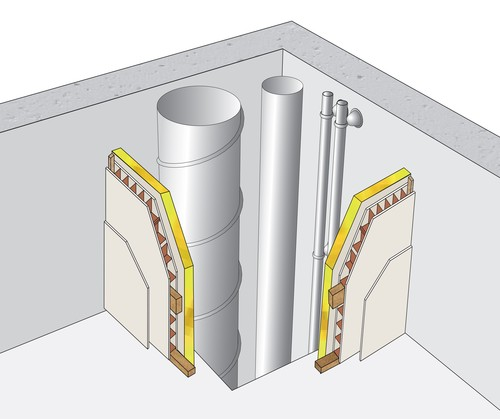 Gaine Technique Placopan Placopan 50 1 X Ba18 2 6m Placo