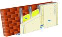 Doublage Placostil® sur montants - support brique isolante 20cm - 2 x Placoplatre® BA13 - 2,1m