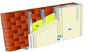 Doublage Placostil® sur montants - support brique isolante 20cm - 3 x Placoplatre® BA13 - 2,6m