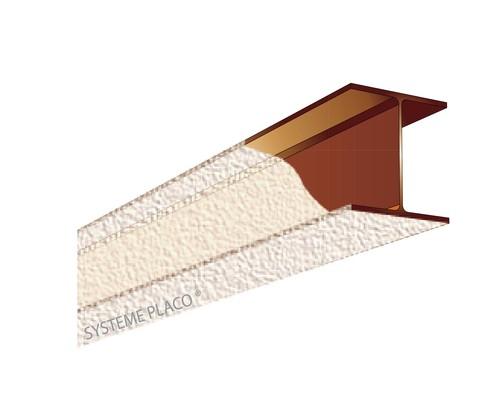 Protection de structure métallique par plâtre Lutèce® Feu 400 - 31mm - R60 - massivité entre 151 et 200 m-1