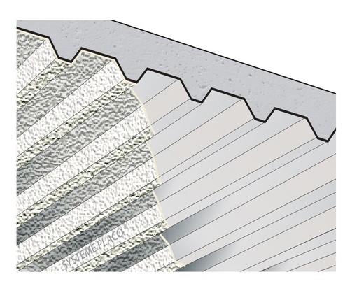 Protection de poutre béton rectangulaire par plâtre Lutèce® Feu 400 - 17 mm - REI180