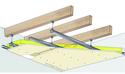 Plafond Placostil® sur montants - Charpente bois ou métallique - Placoplatre® BA13 - 3,15 m