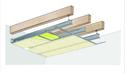 Plafond longue portée Stil Prim® Tech - Charpente bois ou métallique - Placoplatre® BA13 - 4,2 m - R15