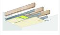 Plafond longue portée Stil Prim® Tech - Charpente bois ou métallique - 2x Placoplatre® BA13 - 3,75 m